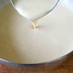 Основа на молоке с дрожжами