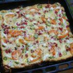 жидкая пицца на кефире