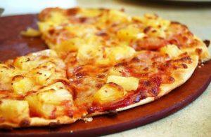 пицца с ананасами4