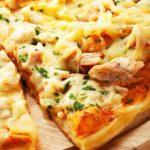 Пицца с ананасами 5