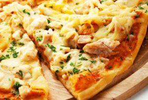 пицца с ананасами5