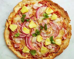 пицца с ананасами8