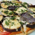пицца с баклажанами 9