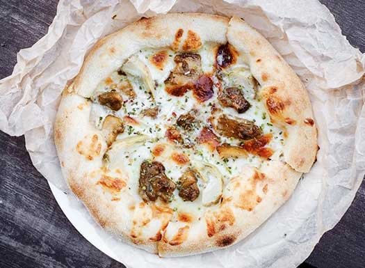 пицца с белыми грибами13