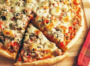 пицца с белыми грибами2