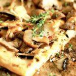 пицца с белыми грибами8