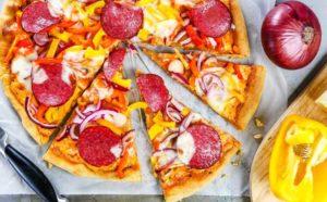 пицца с болграским перцем1