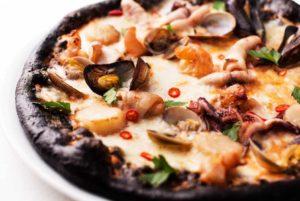пицца с грибами8