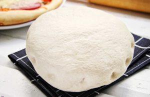 Пышное тесто для пиццы дрожжевое на молоке и сливочном масле