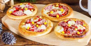 Тесто для мини-пиццы на сухом молоке
