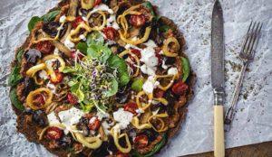 пицца для здорового образа жизни