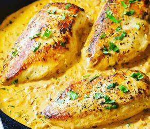аппетитное куриное филе