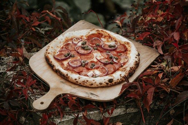 Пиццу можно готовить на свежем воздухе