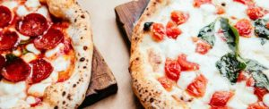 две пиццы