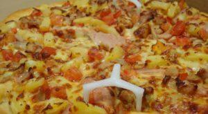 гавайская пицца из доставки