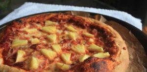 гавайская пицца красивое фото