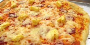 гавайская пицца в мазике