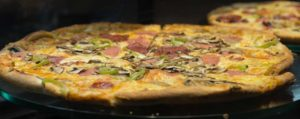 10 копченая пицца