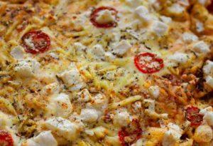 11 копченая пицца