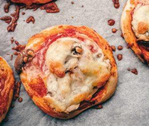 ленивая мини пицца
