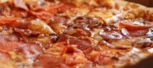 16 копченая пицца
