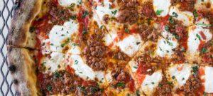 пицца болоньеза с сыром