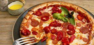 6 копченая пицца