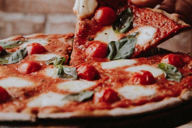 Очень сочная пицца