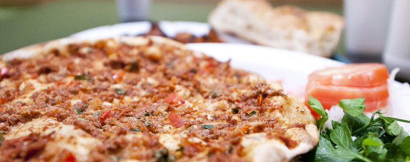 фарш на пицце