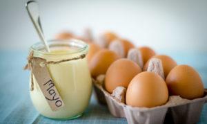 майонез и яйца