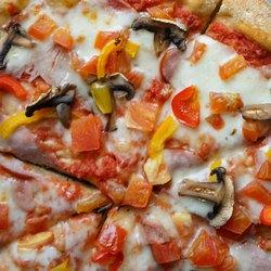 Начинка для пиццы с грибами и овощами