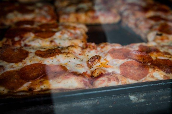 Пицца в форме