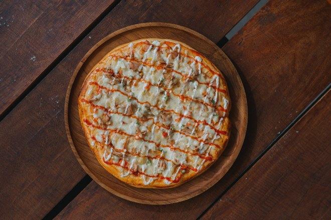 Идеально круглая пицца