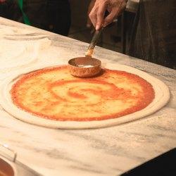 Соус на тесте для пиццы