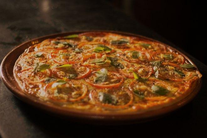 Пицца приготовилась