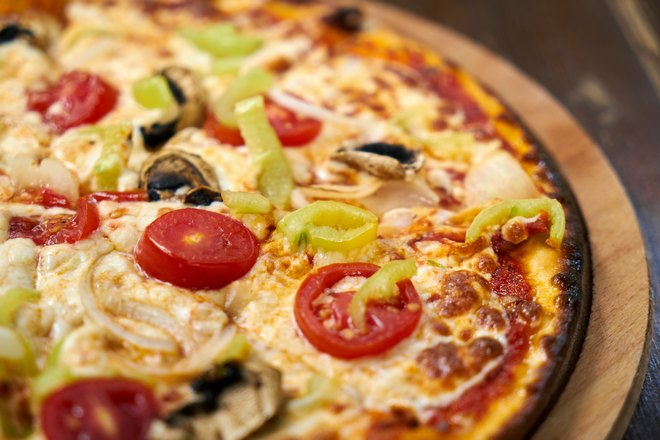 Пицца подрумянилась