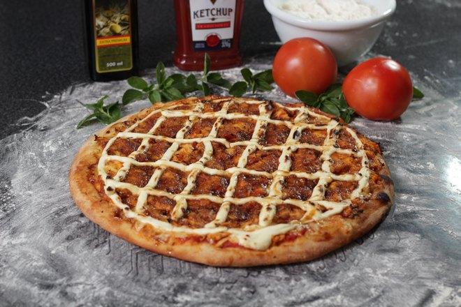Пицца и 2 помидора