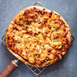 Пицца на решетке