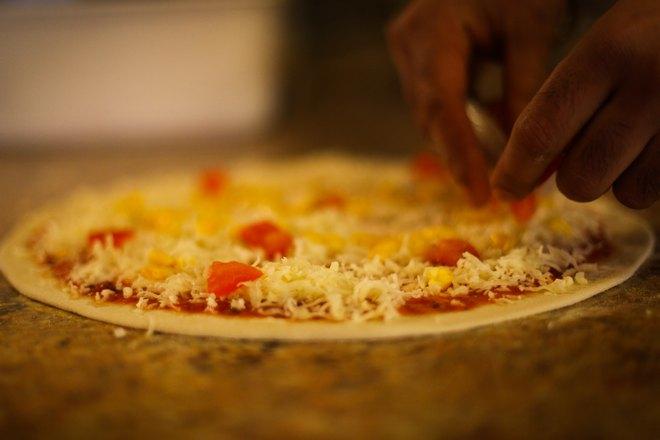 Детская пицца с сыром