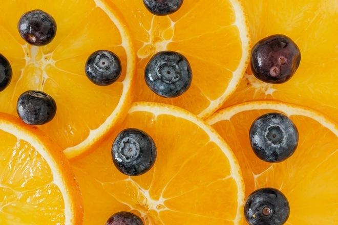 Черника и апельсины