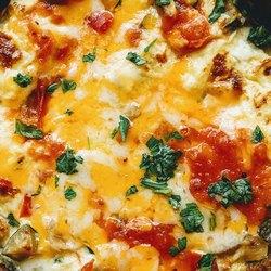 Сочная начинка пиццы
