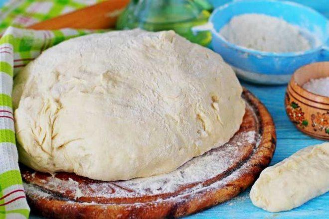Тесто для пиццы готово