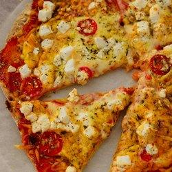 Яркая пицца